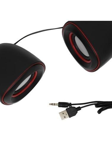 Techmaster Techmaster GSystem D015 Stereo Usb Hoparlör Renkli